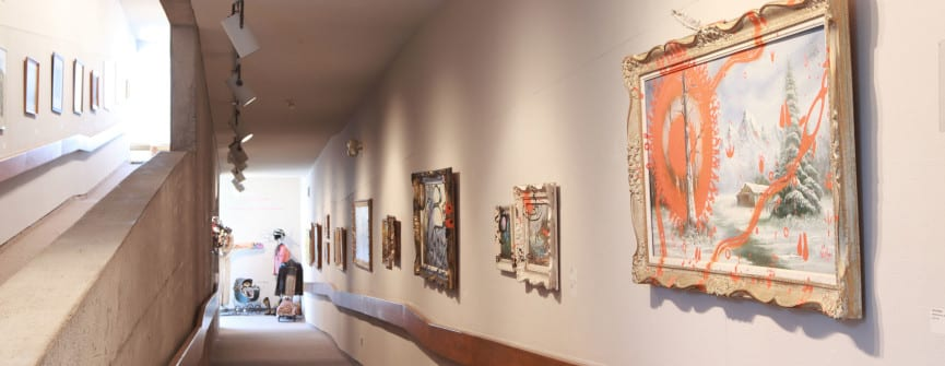 Jimson Bowler, Muskrat Love (Zhusk Ode Min) exhibition view