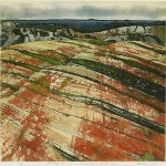 Edward Bartram, Rockscape #1, ed. 63/70, from the Precambrian Shield Series