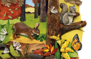 Kitten Stories: Illustrations by Eugenie Fernandes