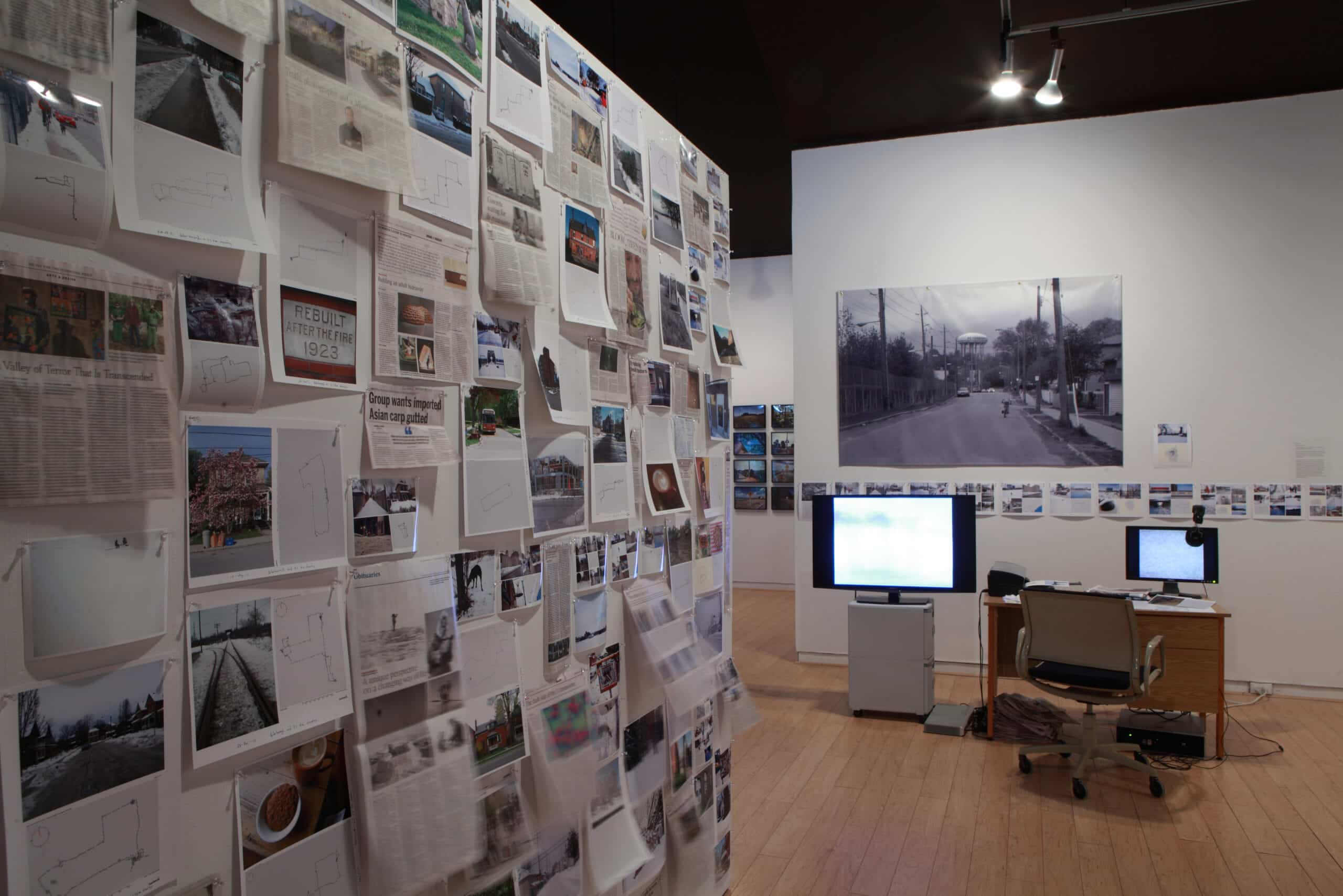 Erratic Space, installation view