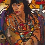 Arthur Shilling, Ojibway Dreams (Suzanne), ca. 1984, oil on board, 88.9 x 71.1 cm, Estate of Arthur Shilling. Photo: Michael Cullen, TPG Digital Arts, Toronto