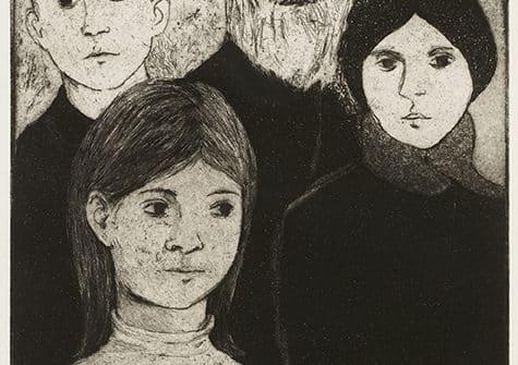 Rita Briansky, Heritage, ed. 9/75, n.d., etching on paper