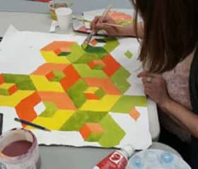 Op-Art Explorations with Victoria Wallace