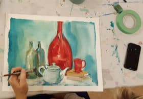 Still Life Painting with Victoria Wallace