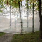 Daniel Griffin Hunt, Portal, Saran Wrap, site specific performance, 2015-ongoing