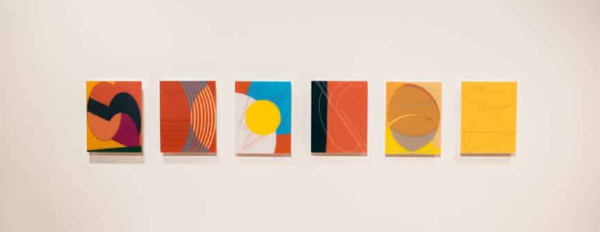 Francisco-Fernando Granados, letters, 2018-2019, digital drawing; chromogenic prints mounted on plexiglass