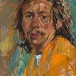 Arthur Shilling, Self Portrait, 1976, oil on Masonite, collection of Barbara Stimpson. Photo: Michael Cullen, TPG Digital Arts, Toronto
