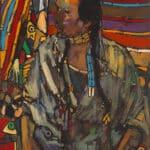 Arthur Shilling, Ojibway Dreams (Paul Wearing Choker), oil on canvas, Estate of Arthur Shilling. Photo: Michael Cullen, TPG Digital Arts, Toronto