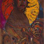 Arthur Shilling, Ojibway Dreams (Self Portrait 2), c. 1985, oil on canvas, Estate of Arthur Shilling. Photo: Michael Cullen, TPG Digital Arts, Toronto