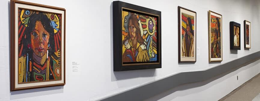 Installation view of Arthur Shilling The Final Works. Photo: Michael Cullen, TPG Digital Arts, Toronto