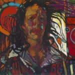 Arthur Shilling, Ojibway Dreams (Self Portrait 1), oil on board, Estate of Arthur Shilling. Photo: Michael Cullen, TPG Digital Arts, Toronto