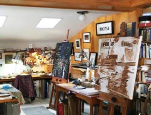 Rob Niezen's studio