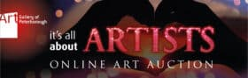 It's All About ARTISTS Online Auction