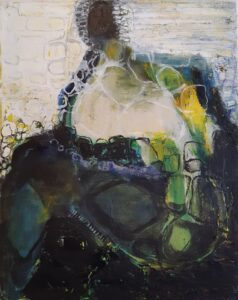 Holly Edwards, Taking the Long Road Home, abstract painting