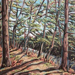 Jenny Kastner, Where the Mississauga Begins, landscape painting
