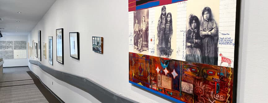 Installation view of Selections from the Collection in the Time of COVID