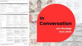 Artists in Conversation: Jem Woolidge