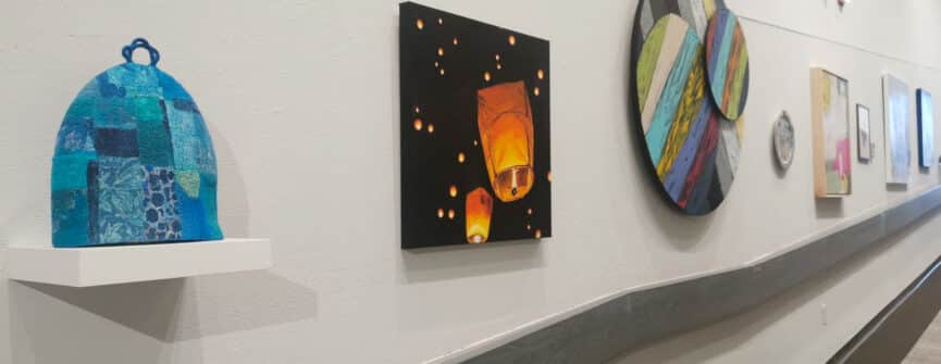 Installation view of KAST Selections Exhibition