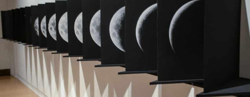 Adam David Brown, Night after Night…, 2021, inkjet on paper, photo by Karol Orzechowski